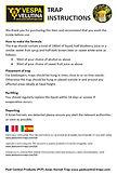 bait instructions for basic asian hornet