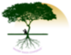 Learning Dreams LLC Logo of child reading beneath a tree.