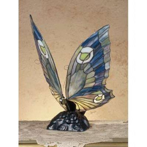 Butterfly Accent Lamp, Plum and Grape Wings by Meyda