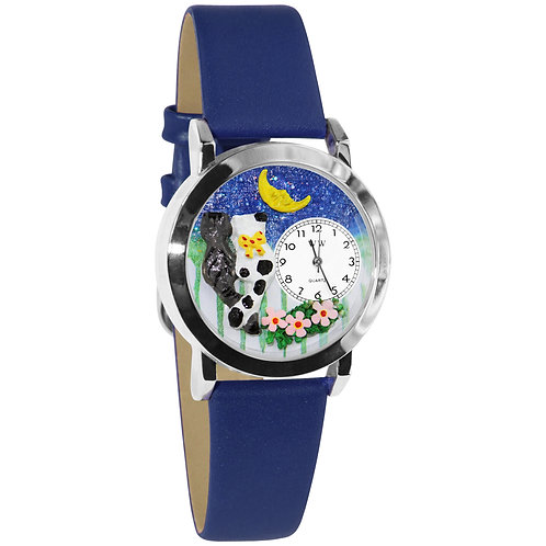 Cat's Date Night Watch - Small, Gold or Silver