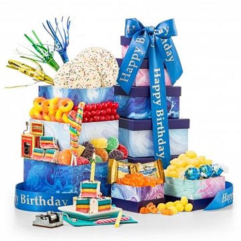 Birthday Bliss Gourmet Gift Tower