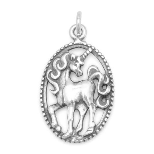 Sterling Silver Unicorn Charm