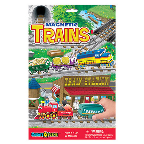 Create A Scene Magnetic Trains