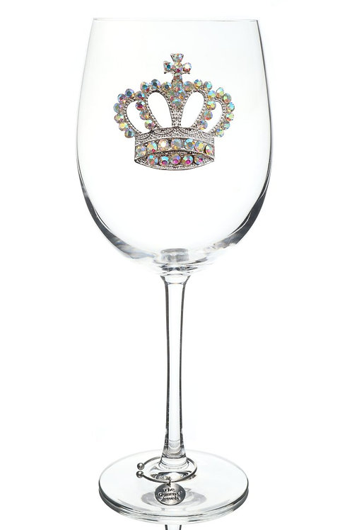 Crown Wine Glass, Stemmed