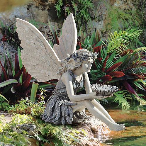 Sunflower Fairy Statue