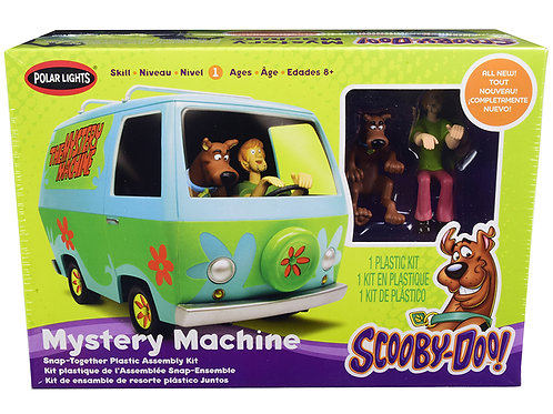 Mystery Machine Kit with Scooby-Doo and Shaggy Figurines
