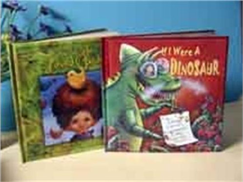 Set of 2 Children's Books - SIGNED by author George Carruth