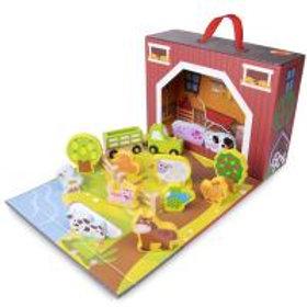 Barnyard Take A Long Play Box