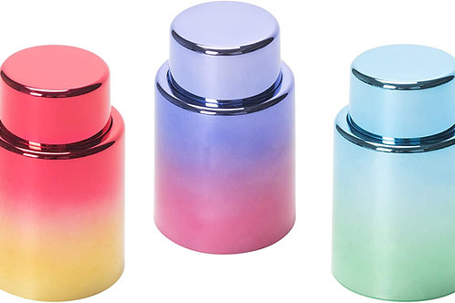 Vacuum Wine Stopper Metallic Ombre