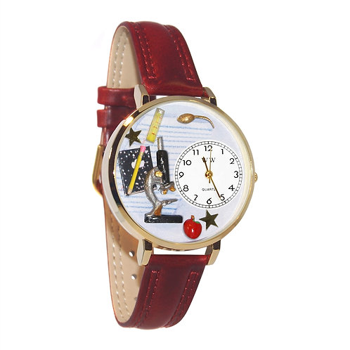 Science Teacher Watch-Gold or Silver