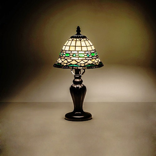 Stained Glass Roman Mini Lamp