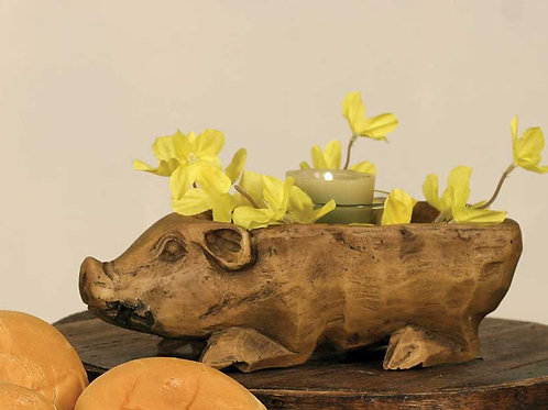Antique Reproduction Small Pig Bowl