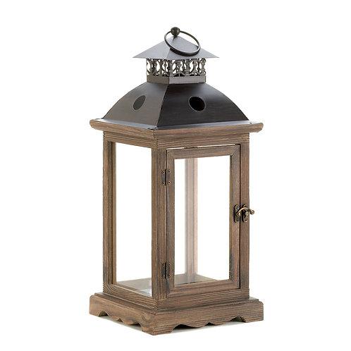 Monticello Wood Lantern