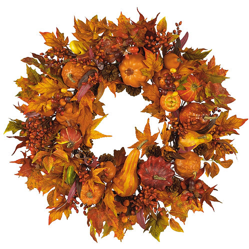 Harvest Wreath 28 inches