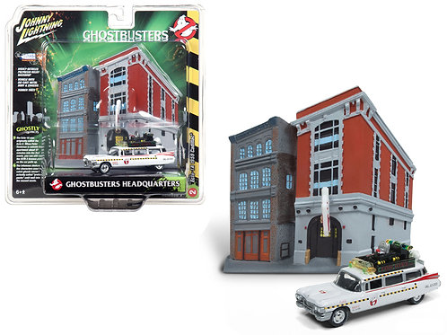Ghostbusters II (1989) Movie Diecast  Ecto-1A Ambulance Model