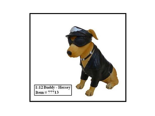 "Biker's Dog ""Buddy Hersey"" Figure"