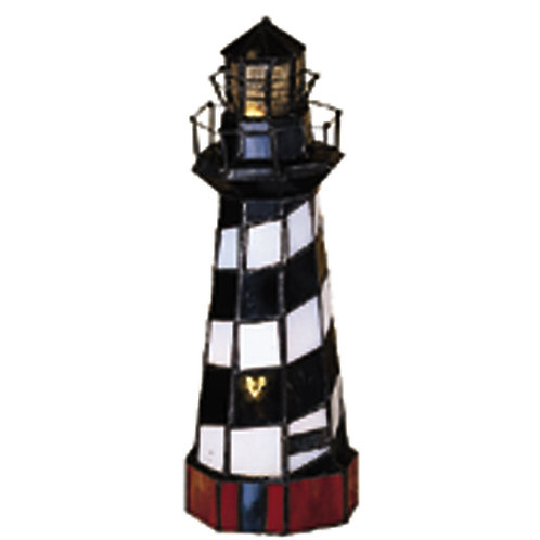 Lighthouse on Cape Hatteras Accent Lamp by Meyda