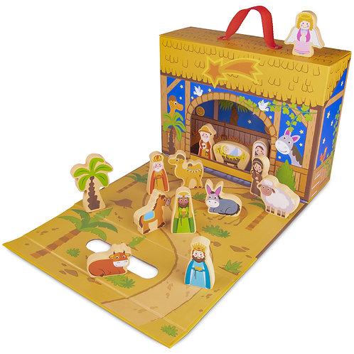 My First Noel Nativity Story Box