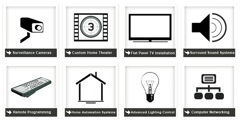 Home Theater Installation, Home Theatre Installation, In Wall iPad Installation,  High End Home Theater Systems, Flat Panel TV Installation, Surround Sound Installation, Home Automation Installation, Smart Home Installation, Universal Remote Programming,