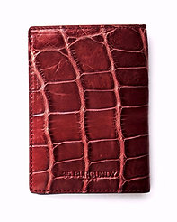 Passport Cover - Burgundy