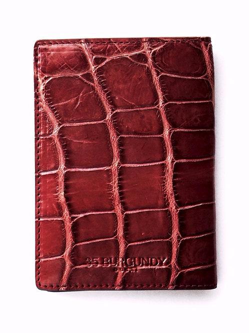 Passport Cover - Burgundy