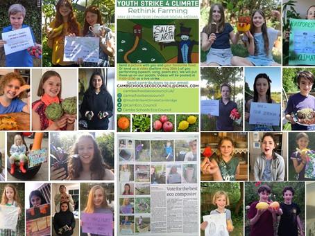 #CLIMATESTRIKEONLINE: May 22nd - Rethink Farming!