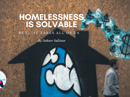 Is homelessness solvable? If I said absolutely, would you join us?