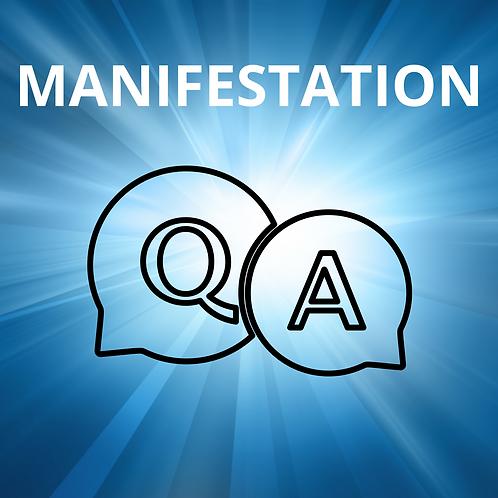 "Q&A: ""Manifestation"""