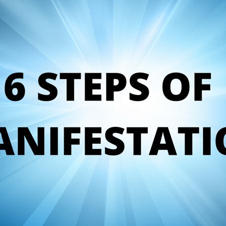 6 STEP OF MANIFESTATION