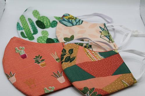 Plants & Flowers Masks