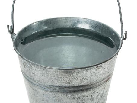 Genesis, Origins and a bucket of water
