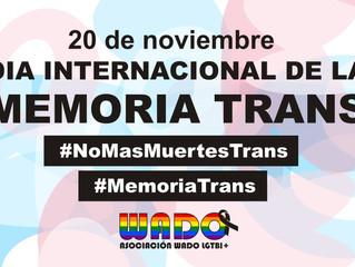 DÍA INTERNACIONAL DE LA MEMORIA TRANS