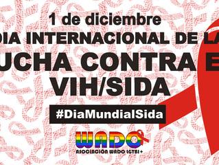 Manifiesto Día Internacional contra el VIH/SIDA de Asociación WADO LGTBI+