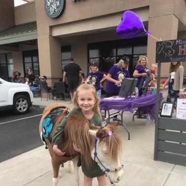 Mini Horse Hug!