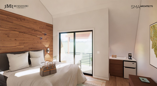 MRR-Guest room rendering