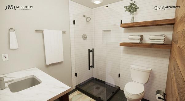 MRR-Guest room bathroom