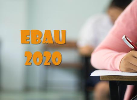 Información importante EBAU 2020 para el alumnado que se va a presentar en julio y/o septiembre