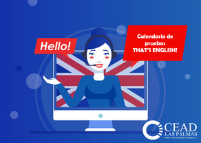 Calendario de pruebas de That's English!
