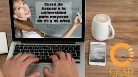 Presentación e inicio del Curso de acceso a la Universidad para Mayores de 25/45 años.