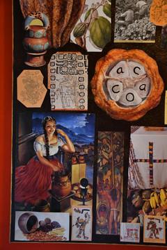 Cacao Collage 80x60 cm - Original Collection