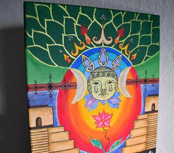 Mayan Moon Goddess