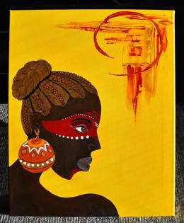 African Beauty 40x50 cm
