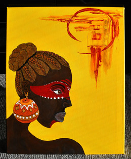African Beauty 40x50 cm - Original Collection