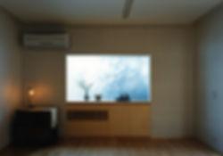 藤ノ木台の家 改装 リフォーム 住宅 1階 増築 RC コンクリート造 木造 関西 奈良県 奈良市 和モダン シンプル ダイニング リビング 庭 自然素材 和紙貼りの壁 無垢フローリング 建築家