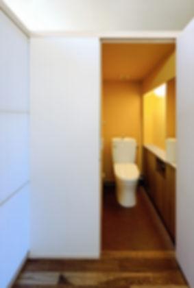 深江の家 改装 リノベーション リフォーム 住宅 マンション 1階 RC コンクリート造 兵庫県 神戸市 シンプル ナチュラル モダン トイレ 関西  自然素材 珪藻土