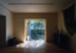 藤ノ木台の家 改装 リフォーム 住宅 1階 増築 RC コンクリート造 木造 関西 奈良県 奈良市 和モダン シンプル リビング 庭 自然素材 和紙貼りの壁 無垢フローリング 建築家