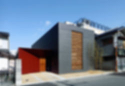 EShouse-02 新築 住宅 2階建て RC コンクリート造 木造 大阪府 大阪市 シンプル モダン 外観