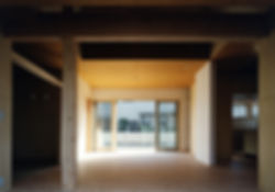 白川の家 新築 住宅 2階建 木造 大阪府 茨木市 シンプル 和モダン リビング