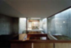 EShouse-02 新築 住宅 2階建て RC コンクリート造 木造 大阪府 大阪市 シンプル モダン 吹抜け 中庭