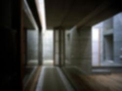 EShouse-02 新築 住宅 2階建て RC コンクリート造 木造 大阪府 大阪市 シンプル モダン 廊下